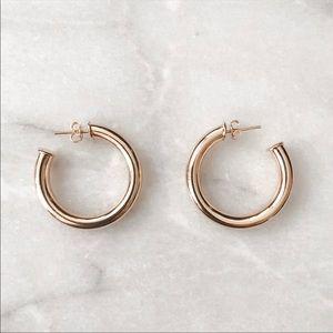 Adina's Jewels Gold Hoop Earrings